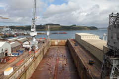 Falmouth Docks, UK. Stock Photography