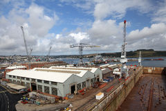 Falmouth Docks, UK. Royalty Free Stock Photo