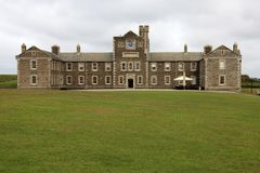 United Kingdom. Falmouth (England), UK - August 15, 2015: Pendennis castle, Falmouth, Cornwall, England, United Kingdom royalty free stock images