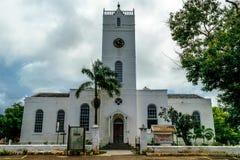 Falmouth Farny kościół St Peter apostoł zdjęcia royalty free