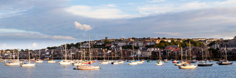 Falmouth from Flushing royalty free stock images