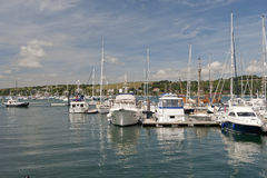 Falmouth Harbor Stock Photography