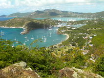 Falmouth Harbour. Antigua Stock Photos