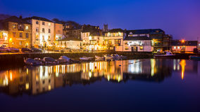 Falmouth Harbour Night Stock Photography