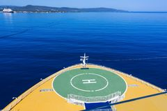 Falmouth, Jamaica - May 02, 2018: Cruise ship Disney Fantasy by Disney Cruise Line docked in Falmouth, Jamaica. On May 02, 2018 stock photography