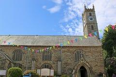 Falmouth Parish Church Stock Image