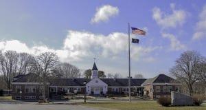 Falmouth stadshus, Massachusetts i Falmouth, Massachusetts arkivfoto