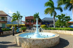 Falmouth Water Square, Jamaica Royalty Free Stock Photo