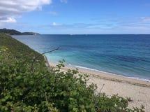Falmouth zatoka, Falmouth, Cornwall Obrazy Royalty Free