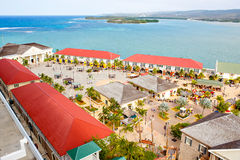 Falmouthhaven in Jamaïca-eiland, Caribbeans Stock Foto