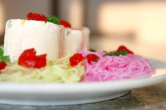 Falooda kulfi Royalty Free Stock Photography