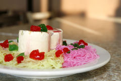 Falooda kulfi Royalty Free Stock Photo