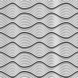 Falowa 3D bezszwowa tekstura ilustracji