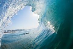 Falowa Dudniąca surfing wody perspektywy fotografia fotografia royalty free