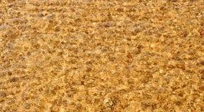 Falowa morze plaża na odgórnym widoku Zdjęcie Royalty Free