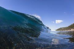 Falowa wody rafa Obrazy Royalty Free