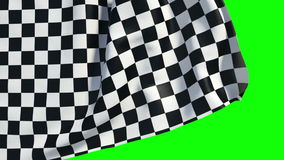 Falowania checker kona flaga zbiory
