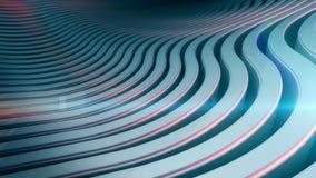 Falowego zespołu tła abstrakcjonistyczna powierzchnia Zdjęcie Stock