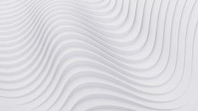 Falowego zespołu tła powierzchni 3d abstrakcjonistyczny rendering Zdjęcie Stock
