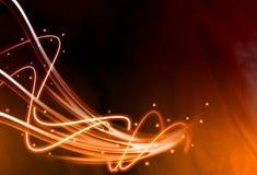 Falowy abstrakta tło Fotografia Stock