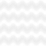 Falowy bezszwowy deseniowy biel Obrazy Royalty Free
