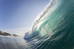 Falowy ocean zdjęcie stock