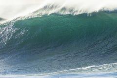 Falowy oceanu zbliżenie Obraz Royalty Free
