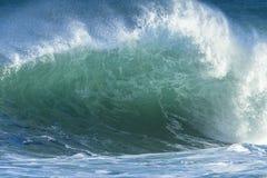 Falowy oceanu zbliżenie Obraz Stock