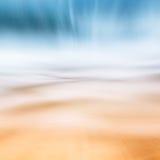 Falowy piaska abstrakta Seascape Zdjęcia Stock