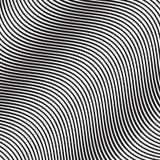 Falowy Pochylony Gładki linia wzór w wektorze Obrazy Royalty Free