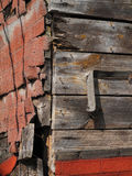 Falsa esquina retra de la pared de ladrillo del Grunge Fotografía de archivo libre de regalías