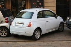 Falsch geparktes Auto Stockbilder