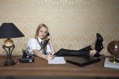 Falsche Annäherung an Arbeit Lizenzfreies Stockfoto