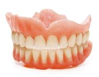 Falsche Zähne Stockfoto