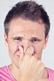 Falscher Geruch? Stockbilder