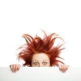 Falscher Haartag lizenzfreies stockbild