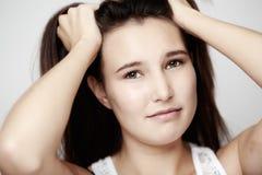 Falscher Haartag Stockbild