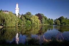 Falscher Homburg Schloss lizenzfreies stockbild