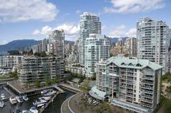 Falscher Nebenfluss Vancouver Stockbild