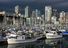 Falscher Nebenfluss in Vancouver lizenzfreie stockfotos