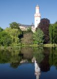 Falsches Homburg Schloss Portrait stockfotografie