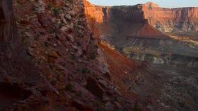 Falsches Kiva bei Sonnenuntergang Stockfotos