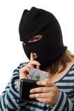 Falsches Mädchen-Konzept Lizenzfreies Stockfoto