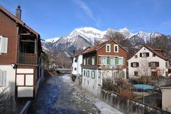 Falsches Ragaz, die Schweiz Lizenzfreie Stockfotos
