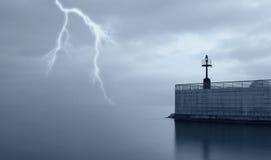 Falsches Wetter auf dem Meer Lizenzfreies Stockbild
