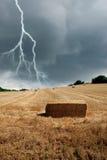 Falsches Wetter in der Landschaft Stockfotografie