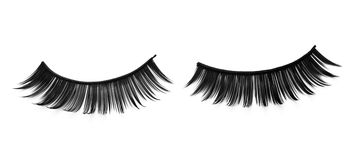 False adhesive eyelashes Royalty Free Stock Photography