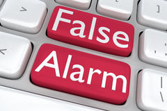 False Alarm Concept Royalty Free Stock Photography
