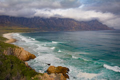 False bay beach and Kogelberg Stock Images