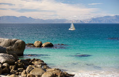 False Bay, Cape Town Royalty Free Stock Photo